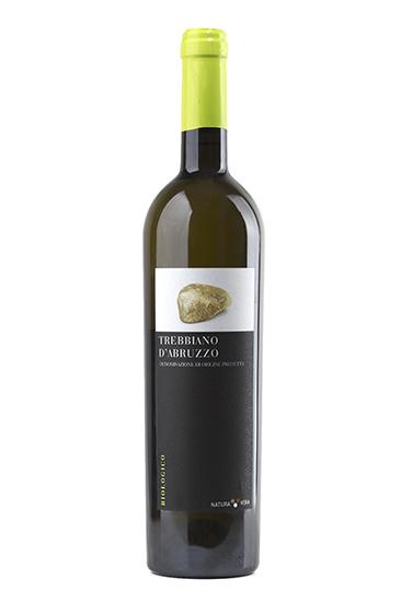 trebbiano d'abruzzo DOP vino bianco biologico